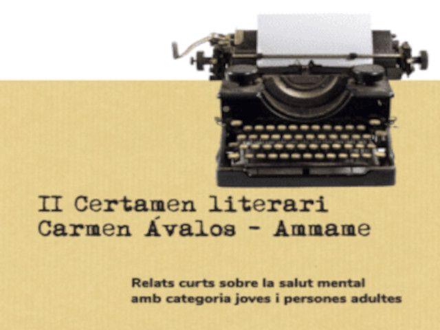 II Concurs Literari Carmen Àvalos